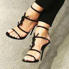 Head over Heels - Ysl heels sale ysl heels opyum ysl heels ysl heels. Cute Shoes, Women's Shoes, Me Too Shoes, Louboutin Shoes, Christian Louboutin, Ysl Boots, Shoe Boots, Ysl Heels, Pumps Heels