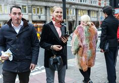 Pernille Teisbaek with a Gabriela Hearst bag