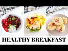 HEALTHY BREAKFAST IDEAS to make: easy paleo recipes - YouTube Paleo Breakfast, Breakfast Ideas, Breakfast Recipes, Keto Granola, Paleo Recipes Easy, Baked Potato, Healthy Eating, Gluten Free, Snacks