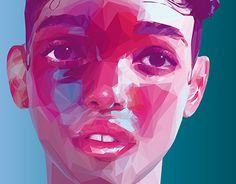 """Check out this @Behance project: """"Low Poly / High Poly Portraits: Artists"""" https://www.behance.net/gallery/26076325/Low-Poly-High-Poly-Portraits-Artists"""