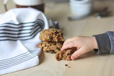 Breakfast Cookies - sweetened with dates, no sugar