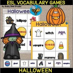 tigerlearn esl resource pack activities student centered resources and fun - Esl Halloween Games