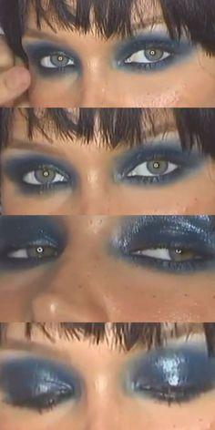Edgy Makeup, Makeup Eye Looks, Grunge Makeup, Eye Makeup Art, Cute Makeup, Pretty Makeup, Skin Makeup, Makeup Inspo, Makeup Inspiration