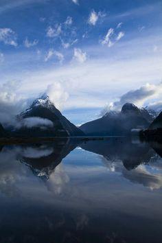 Mitre Peak, Fiordland National Park, New Zealand by Jason Friend