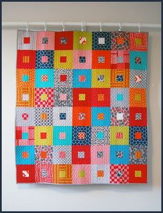 baby b quilt front