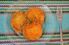 Receta de Tortas de arroz en caldillo de jitomate