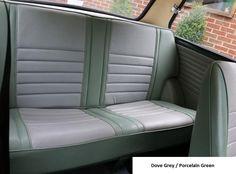 Austin Mini MK1 Cooper S Rear seats