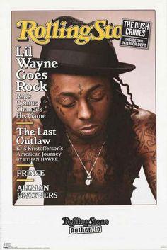 Lil Wayne Rolling Stone Magazine Poster 22x34 – BananaRoad
