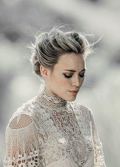 Hilary Duff-gray hair