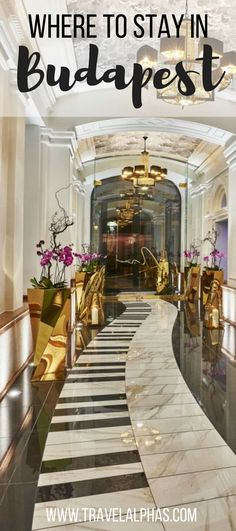 Wondering where to stay in Budapest, Hungary? Look no further than the Aria Hotel Budapest -- the city's best 5-star hotel.