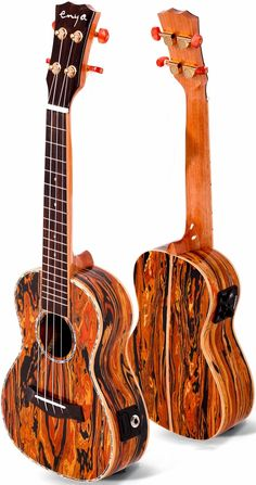 enya hand-made ukulele/ GH series / AA solid technical wood with green shell / concert-Ukulele-Enya International Musical Instruments Ltd