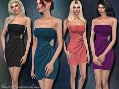 Harmonia's Crystal Embellished Gathered Wrap Dress