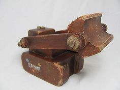 vintage wood toy bulldozer - Google Search