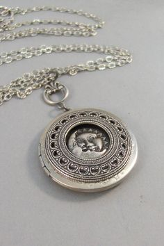Sun And MoonMoonMoon NecklaceMoon by ValleyGirlDesigns on Etsy Leather Jewelry, Metal Jewelry, Jewelry Box, Silver Jewelry, Leather Bracelets, Leather Cuffs, Bullet Jewelry, Moon Jewelry, Cowgirl Jewelry