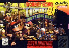 Donkey Kong Country 2 SNES Super Nintendo