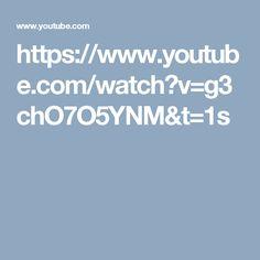 https://www.youtube.com/watch?v=g3chO7O5YNM&t=1s
