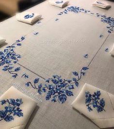 Beaded Cross Stitch, Cross Stitch Rose, Modern Cross Stitch, Cross Stitch Flowers, Cross Stitch Designs, Cross Stitch Patterns, Hand Embroidery Design Patterns, Hand Embroidery Dress, Embroidered Bedding