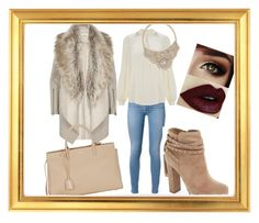 """""""Untitled #46"""" by neska22 ❤ liked on Polyvore featuring Jessica Simpson, River Island, Yves Saint Laurent, Temperley London and Bebe"""