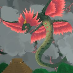 Kukulkan from Smite :D I love this game!