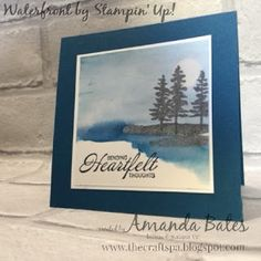 The Craft Spa - Stampin' Up! UK independent demonstrator : Waterfront Wednesday... In the Moonlight...