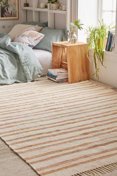 Zia Rag Rug - Urban Outfitters
