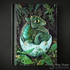 Book polymer clay