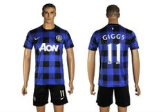 Maillot Manchester United Giggs 11 Extérieur 2013-2014