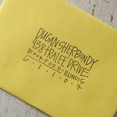 69 Ideas For Wedding Invitations Envelopes Address Layout - İnvitation Envelope