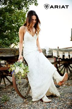 And the bride wore boots! Walk down the aisle in a look that celebrates your style. Not all happily ever afters begin with a glass slipper. Diana Wedding Dress, Wedding Dress Shopping, Boho Wedding Dress, Bridal Dresses, Wedding Shoes, Dream Wedding, Prom Shoes, Wedding Beauty, Fall Wedding