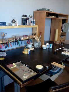 organize art studio | need support with setting up work room - Forums - Art Jewelry Magazine ...