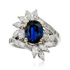 Sapphire Jewelry, Diamond Jewelry, Gold Jewelry, Jewelry Rings, Jewellery, Antique Jewelry, Vintage Jewelry, High Jewelry, Beautiful Rings