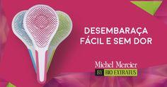 Adquira hoje mesmo a Escova Michel Mercier by Bio Extratus! Desembarace o seu cabelo e o seu dia com a mais nova Escova do mercado! Versões adulto e infantil.