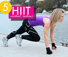 5 HIIT workouts #workouts #hiit #intervaltraining #fastworkouts #quickworkouts