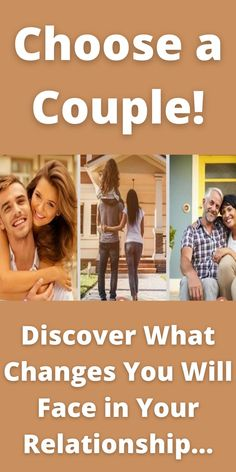 Have you chosen a couple? Couple Test, Spiritual Psychology, Self Discovery, Numerology, You Changed, The Selection, Spirituality, Relationship, Couples
