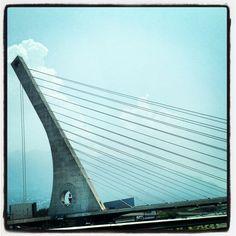 Atirantado, bridge, Monterrey Mx.