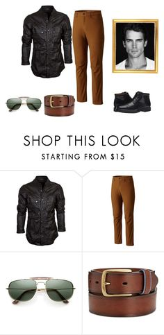 """""""Men's Fashion"""" by maryjanefarrell ❤ liked on Polyvore featuring Mountain Hardwear, Club Room, Rockport, men's fashion and menswear"""