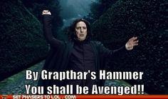 Harry Potter plus Galaxy Quest