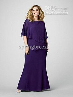 46b9c677378 Wholesale Chiffon Short Sleeves Plus Size Mother of the Bride Dress Prom  Gown Special Occasion Dresses