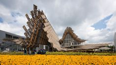 World Expo 2015 Milan, China Pavilion, designed by  Studio Link-Arc and a team from the Tsinghua University in Beijing