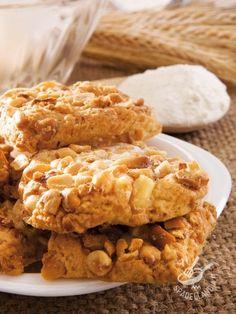 Gallette di arachidi e cannella