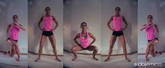 rear side lunge and squat