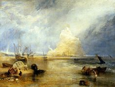 St.Michael's Mount by Joseph Mallord William Turner