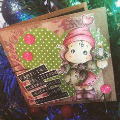 Cartão de Natal - magnolia
