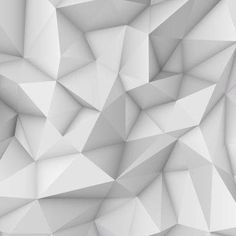 white abstract low-poly polygonal triangular mosaic background for web presentations and prints. Home Wallpaper, 3d Design, Textured Background, Mosaic, Royalty Free Stock Photos, Presentation, Templates, Low Poly, Abstract