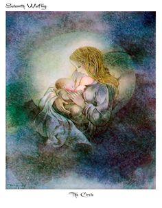 """The Circle"" by Sulamith Wulfing. Motherhood."