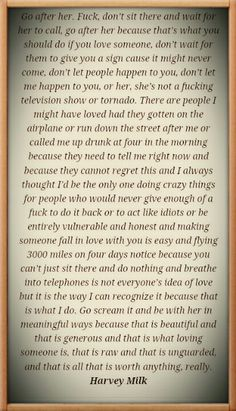 This has to be one of the best quotes about love
