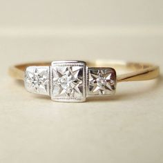 vintage art deco ring, gorgeous