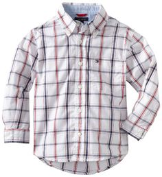 Tommy Hilfiger Boys 2-7 New Vineyard Shirt, Classic White, 6/Regular Tommy Hilfiger,http://www.amazon.com/dp/B0085J907W/ref=cm_sw_r_pi_dp_jUnHsb0DDGHP61KS