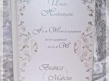 Gästebuch Hochzeit, Geschenk,Gästebuch,Glimmer 14