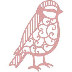 Intricut Bird Die 7.3 X 5.7 Cm | Hobbycraft